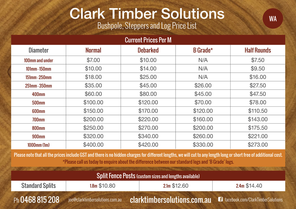 Nature Play Supplies | Clark Timber Solutions